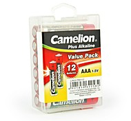 Camelion Plus Alkaline AAA Battery in Container Box of 12 PCS