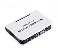 VGA Female to HDMI Female Video Converters With 3.5mm Audio Support 1080P