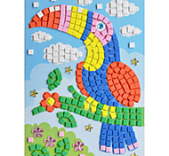 EVA Mosaic Crystal 3D Stickers Children Hand DIY Toucan Toy