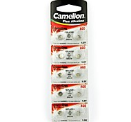 Camelion 1.5V AG0 Alkaline Button Battery (10pcs)