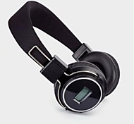 Co-crea SD-8803 Headphone 3.5mm Over Ear Volume Control with FM Radio Hi-Fi for Mobile Phone/PC