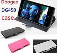 moda couro da tampa do caso da aleta para dg450 doogee lfet para smartphone ideal 3 cores