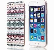 Elegant Design Pattern Plastic Cover for iPhone 6