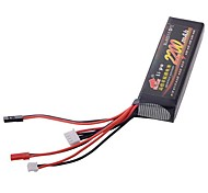 11.1V 2200mah 8C JR Futaba Propo Transmitter lipo Lithium Battery
