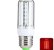 Bombillas LED de Mazorca T E26/E27 6W 48 SMD 5050 540 LM Rojo AC 100-240 V
