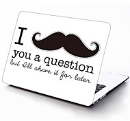 Moustache Design Full-Body Protective Plastic Case for 11-inch/13-inch New MacBook Air