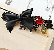 Fashion Black Bowknot Ribbon Hairpins for Women (1Pcs)