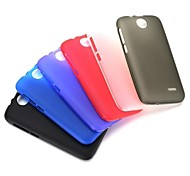 New Arrived Smooth Flexible Gel TPU Back Case for HTC Desire 310(Assorted Colors)