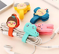 Earphone Cable Wire Cord Organizer Cable Winder