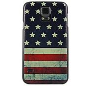 National Flag Design Pattern Hard Case for Samsung Galaxy S5 I9600