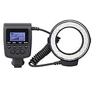 macro rf-550d led flash anulare per Canon, Nikon, Olympus, Panasonic, Pentax DSLR