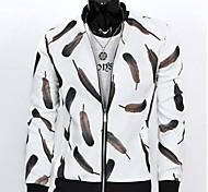 Men's Stand Collar Korean Style Thin Jacket