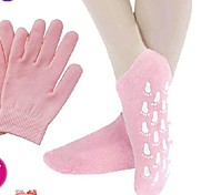 Gel Whitening Exfoliating Foot Mask And Hand Film Set