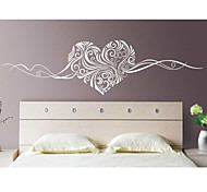 Romance Still Life Fashion Florals Abstract Wall Stickers Plane Wall Stickers Decorative Wall Stickers,# Material Washable RemovableHome
