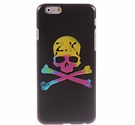 Yellow Skull Design Hard Case for iPhone 6 Plus