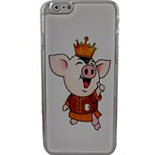 Cute Pig Plastic Hard Back Cover for iPhone 6