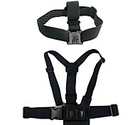 Gopro Accessories Mount / Straps / Accessory Kit For Gopro Hero 3Auto / Military / Skate / Snowmobiling / Aviation / Motocycle /