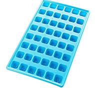 48 Kunststoff-Gitter-Eis-Form (Farbe sortiert)
