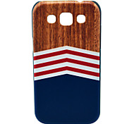 For Samsung Galaxy Case Pattern Case Back Cover Case Wood Grain PC Samsung Win