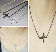 Golden / Black / Silver Vintage Necklaces Alloy Daily / Casual Jewelry