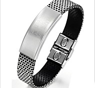 Z&X®  Fashion Personality  Titanium Steel Smooth Surface Bracelets