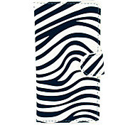 O Padrão Zebra PU Leather Case de plástico rígido para a Huawei G6