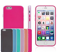 Zweifarbige TPU der für iphone6 (verschiedene Farben)