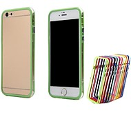Dual Color TPU Bumper Frame Covers for iPhone 6 Plus Bumper Cases 5.5 inch (Assorted Colors)