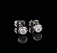 Zircon Fashion Wrapping CZ Stud Earrings