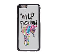 Colorful Zebra Pattern Aluminum Hard Case for iPhone 6 Plus