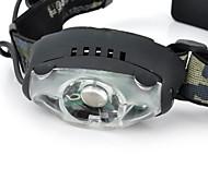 Iluminación Linternas de Cabeza LED 200-230 Lumens 3 Modo Cree XR-E Q5 AA A Prueba de Agua / Recargable / Resistente a Golpes
