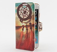 Sun and Dreamcatcher Pattern PU Leather Case with Stand and Card Slot for iPhone 6