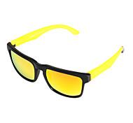 Sunglasses Men / Women / Unisex's Fashion Rectangle Yellow Sunglasses Full-Rim
