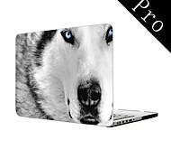 """bisher beste weiße Wolf Design Ganzkörper-Kunststoffschutzhülle für MacBook Pro 13 """"/ 15"""" (non-Retina)"""