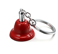 Christmas Jingle Bell Zinc Alloy Keychain