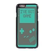 I've Got Game Pattern Aluminum Hard Case for iPhone 6