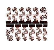 12PCS Long Totemism Watermark Nail Art Stickers C1-016