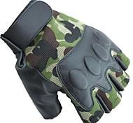 Glove Cycling / Bike Women's / Men's / All Fingerless Gloves Windproof / Anti-skidding / Keep Warm Spring / Summer / Autumn / WinterGreen