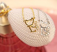 Fashion Sweet Cat Pendant Short Necklace