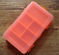 Transparent Plastic Waterproof  Double Switch Fishing Box