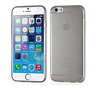 Ultrathin Transparent Silicone Ultrasoft Back Case for iPhone 6(Assorted Color)
