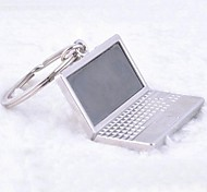 Silver Alloy Personalized Laptop Keychain