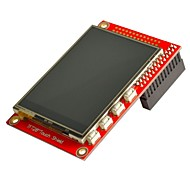 "2,8 ""TFT 320 x 240p-Touchscreen-Display Modul für Raspberry Pi + b / b - red"