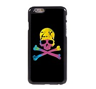 Unique Skull Design Aluminum Hard Case for iPhone 6