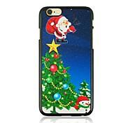 natal do pai e caso difícil árvore padrão plástico de natal para iphone 6
