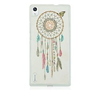The Wind Chimes Pattern Hard Case for Huawei Ascend P7