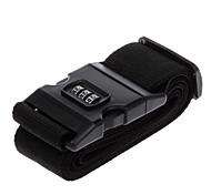 Travel Luggage Belt Strap with 3-Digital Combination Lock