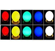 1W E26/E27 Ampoules Globe LED 8 SMD 2835 50 lm Blanc Froid AC 100-240 V