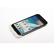 3600 mAh External Backup Battery Charger Case for Samsung Galaxy Note II - White
