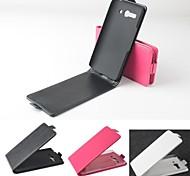 vendita calda cassa di cuoio dell'unità di elaborazione del cuoio di vibrazione 100% per Alcatel One Touch pop C9 (colori assortiti)